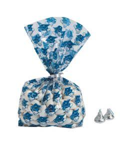 Blue Graduation Cellophane Bags