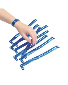 Blue Laser Wristbands
