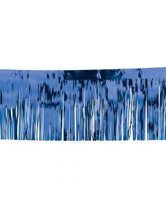 Blue Metallic Fringe