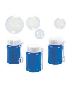 Blue Mini Bubble Bottles