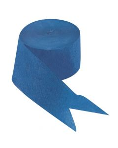 Blue Paper Streamers
