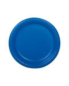 Blue Plastic Dinner Plates