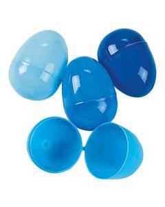 Blue Plastic Easter Eggs