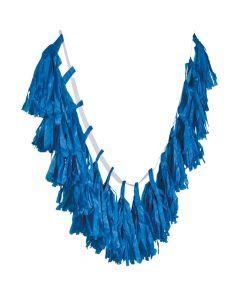 Blue Tassel Garland