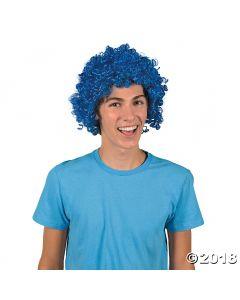 Blue Team Spirit Wig