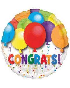 Bold Congrats Foil Balloon