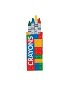 Brick Party Crayons