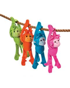 Bright Long Arm Stuffed Monkeys