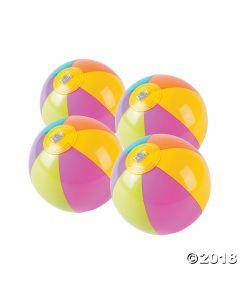 Bright Mini Beach Balls