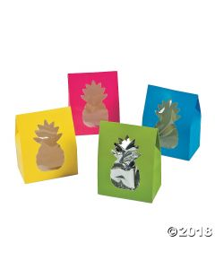 Bright Pineapple Favour Boxes