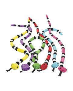 Bright Stuffed Snakes