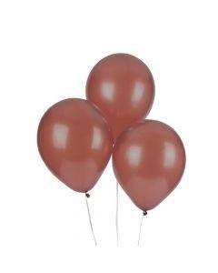 "Brown 9"" Latex Balloons"