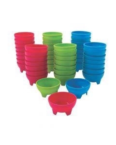Bulk Bright Guacamole Bowls - 48 Pc.