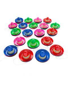 Bulk Mini Plastic Sombreros