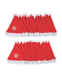 Bulk Religious Santa Hats - 30 Pc.