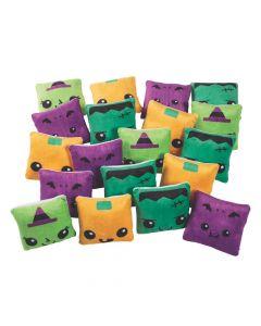 Bulk Square Plush Halloween Characters - 60 Pc.