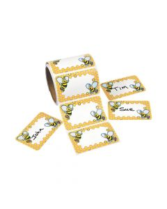 Bumblebee Name Tags/Labels
