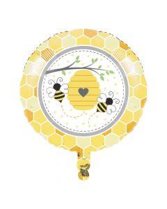 Bumblebee Party Mylar Balloon