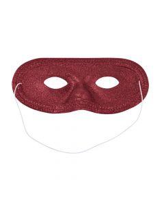 Burgundy Glitter Masks