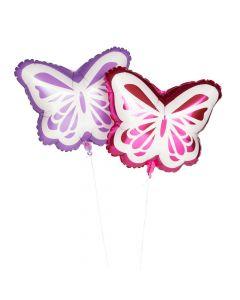 "Butterfly 18"" Mylar Balloons"