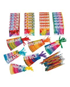 Buy All and Save Rainbow Watercolor Stationery