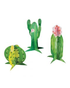 Cactus Party Centerpieces