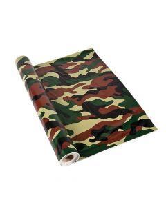Camo Plastic Tablecloth Roll