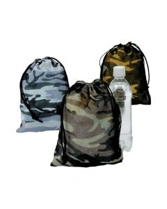 Camouflage Drawstring Backpacks