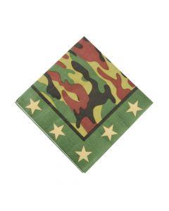 Camouflage Luncheon Napkins