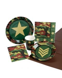 Camouflage Party Packs