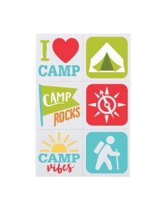 Camp Temporary Tattoos