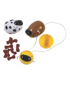 Candy-Filled Animal Nose Easter Eggs - 12 Pc.