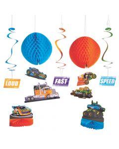 Cars and Trucks Decorating Kit
