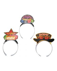 Casino Night Headbands