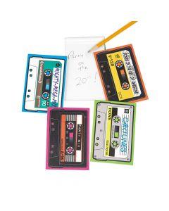 Cassette Shaped Notepads