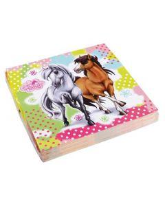 Charming Horses Napkins