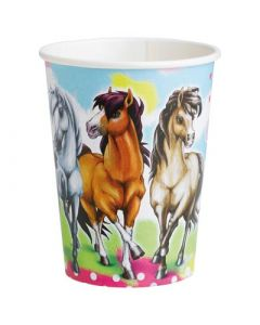 Charming Horses Paper Cups