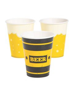 Cheers and Beers Paper Cups
