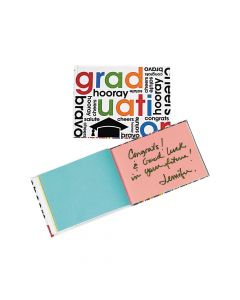 Cheers To the Grad Autograph Notebooks