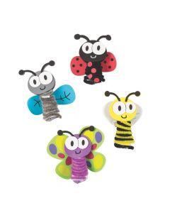 Chenille Bug Finger Puppet Craft Kit