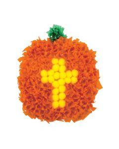 Christian Pumpkin Crinke Tissue Paper Craft Kit