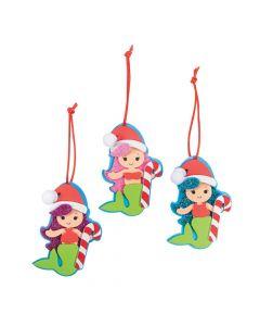 Christmas Mermaid Ornament Craft Kit