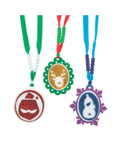 Christmas Pendant Necklace Craft Kit