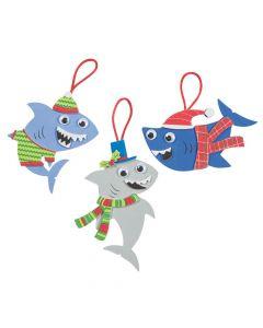 Christmas Shark Ornament Craft Kit