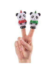 Christmas Unicorn Panda Finger Puppets