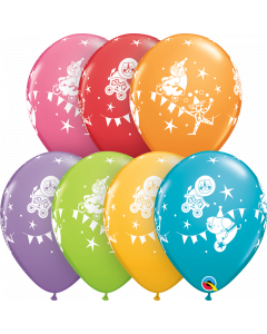 Circus Parade Latex Balloons