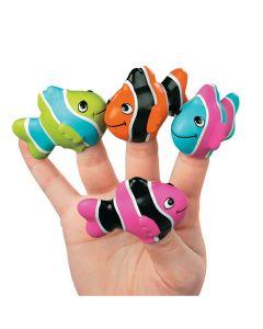 Clown Fish Finger Puppets