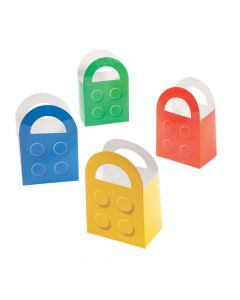 Color Brick Favor Bags