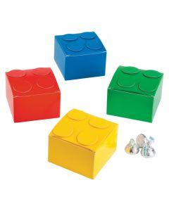 Color Brick Party Favor Boxes