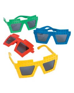 Color Brick Party Sunglasses